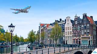 There are 1281 bridges in Amsterdam. Picture: Supplied.