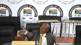 South Africa - Johannesburg - 03 March 2021 - Former Eskom Group Chief Executive Officer (CEO) Brian Molefe appeared before the Commission of Inquiry into Allegations of State Capture led by Deputy Chief Justice Raymond Zondo. Picture: Itumeleng English/African News Agency(ANA)