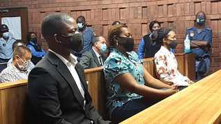 A file picture of from left: Shepherd Bushiri, Mary Bushiri and Landiwe Sindani in the Pretoria Magistrate's Court. Picture: Oupa Mokoena/African News Agency (ANA)