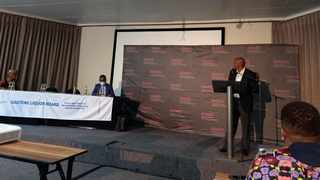 CEO of the Gauteng Liquor Board Raymond Martin challenges liquor traders to lead responsibly. Picture: James Mahlokwane