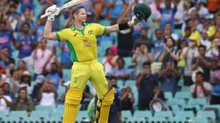 Another pulsating Steve Smith century and two flying outfield catches clinched the one-day international series for Australia with a 51-run victory over India in Sydney on Sunday. Photo: Loren Elliott/Reuters