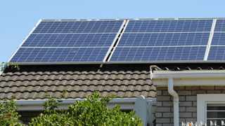 Cape Town - 181210 - Residential Solar panels in Durbanville. Picture: Henk Kruger/African News Agency (ANA)