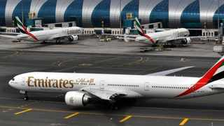 Emirates made the unexpected announcement earlier this week that they would be suspending all their flights with no re-accommodation policies in place for travellers. Picture: AP Photo/Adam Schreck, File