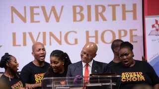 Healing of the Nation - 27 November 2019 - Soweto Gospel Choir and Chief Justice Mogoeng Mogoeng at the Soweto Ministers Fraternal, with Vuka Africa Foundation and other community stakeholders of Soweto at the Healing the brokenness of our nation consultation meeting. Picture: Bhekikhaya Mabaso / African News Agency (ANA)