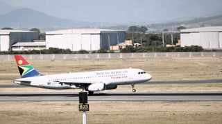 A South African Airways (SAA) aircraft lands at Cape Town International Airport in Cape Town. SAA is one of the interventions available to government to connect different parts of the country, making far-flung places within its territory accessible and linking the country to the region and the world. Photo: Sumaya Hisham