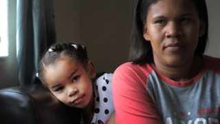 Retreat parents Abigail and Ryan Arendse are appealing for assistance for cochlear implants for their 3-year-old daughter, Elle. They are able to afford costs of the operation but not the device itself which costs around R300 000. Photographer: Armand Hough/African News Agency(ANA)
