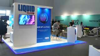 Cape Town. 050320. The Liquid Telecom exhbibition at the Fast Forward Magazine's Most Innovative Companies Expo held at the Cape Town International Convention Centre. Picture Ian Landsberg/African News Agency (ANA).
