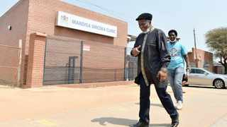 ACDP leader Reverend Kenneth Meshoe outside the Mandisa Shiceka Clinic, which was completed last year but is yet to be used. | Oupa Mokoena African News Agency (ANA)