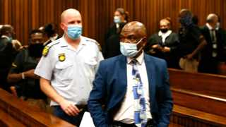 Formeer crime intelligence boss Richard Mdluli finally made it to the North Gauteng High Court in Pretoria on Friday. Picture: NPA ID Communications.