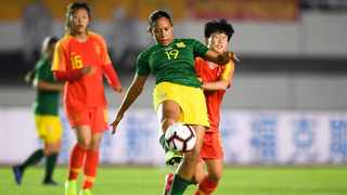 Defender Shakira O'Malley in action for South Africa against China last year. Picture: Supplied