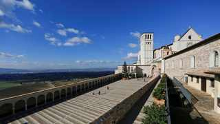 St Francis Basilica is seen in Assisi, Italy. File picture: Alessandro Bianchi/Reuters