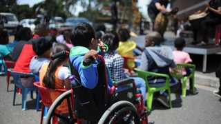 Children with disabilities are often overlooked when it comes to ECD programmes. Picture Henk Kruger/African News Agency (ANA)