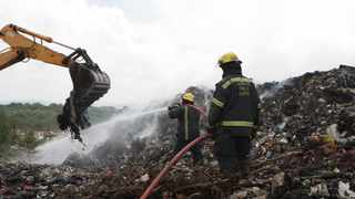 The Umsunduzi Landfill site has come under intense scrutiny following a spate of fires in the last year Picture Bongani Mbatha /African News Agency (ANA)