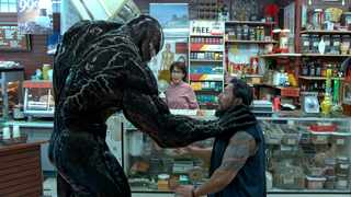 """This image released by Sony Pictures shows a scene from """"Venom."""" Picture: AP"""