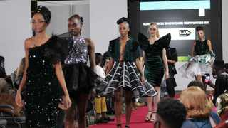 Models strutting on the ramp. Picture: Supplied
