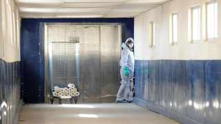 Staff members wearing Personal protective equipment (PPE) at the Charlotte Maxeke hospital. Picture: Itumeleng English/African News Agency(ANA)