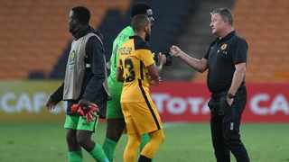Kaizer Chiefs coach Gavin Hunt wants his players to show some spirit today. Picture: Sydney Mahlangu/BackpagePix