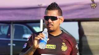Kolkata Knight Riders spinner Sunil Narine has been cleared by the Suspect Bowling Action Committee in the Indian Premier League. Photo: @KKRider via Twitter