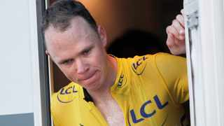 Chris Froome's recovery is 'ahead of schedule' his Team Ineos confirmed. Photo: Yoan Valat/EPA