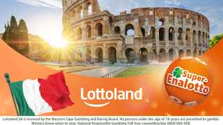 SuperEnalotto the Italians' favourite lotto is now open to South Africans through Lottoland SA.