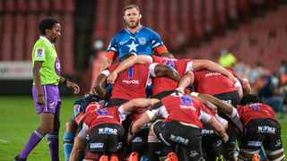 The Bulls captain Duane Vermeulen (C) has led by example in Super Rugby Unlocked. Picture: Christiaan Kotze/EPA