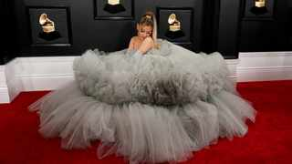 Ariana Grande at the 62nd Grammy Awards. Picture: Reuters
