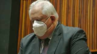 Angelo Agrizzi, formerly of Bosasa, appears at the Specialised Commercial Crimes Court sitting in Palm Ridge on October 14. Picture: Timothy Bernard/African News Agency (ANA)