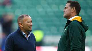 Eddie Jones was outfoxed by Rassie Erasmus in the 2019 World Cup final. Picture: Supplied.