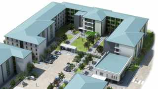 UWC has broken ground on the development of its new 2700 bed capacity student residence, the Unibell in the Belhar CBD precinct.. Picture: Architect's impression of the new UWC residence