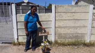 Masuret August says her 33-year-old son Lloyd was allegedly beaten to death by gangsters who had accused him of theft. Picture: Supplied