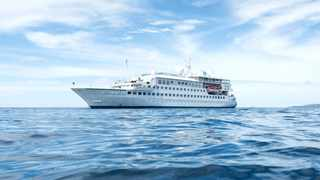 The Crystal Esprit will be the first cruise ship to return to the islands later in August launching the 2021/22 season. Picture: Crystal Esprit.