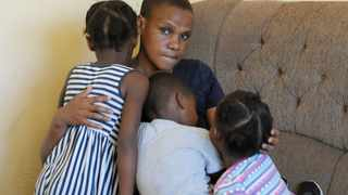 Sisanda Nkondlo is one of the unlucky ones dependent on the grant for her three children. Picture: Tracey Adams/African News Agency (ANA)
