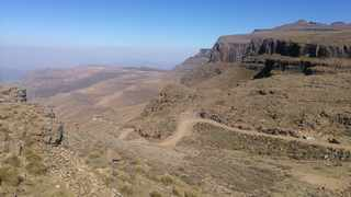 The view from the Highest Pub in Africa. Picture: Clinton Moodley