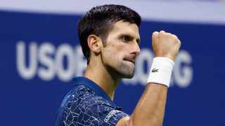 Novak Djokovic, of Serbia has committed to play at 2020 the US Open tennis tournament. Photo: Adam Hunger/AP