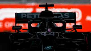 Formula One world championship leader Lewis Hamilton showed his pace on Saturday with the fastest lap in final practice for a Russian Grand Prix that could bring him a record-equalling 91st career win. Picture: Maxim Shemetov/AP