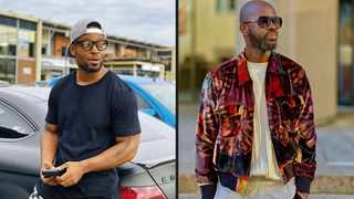 Prince Kaybee and Black Coffee. Picture: Instagram