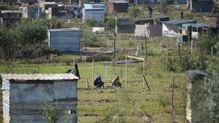 South Africa - Cape Town - 02 August 2020 - Hundreds of people are continuing to build informel homes on private land in Kraaifontein. This area has seen large scale land invasions over the last week with constant running battles with Law Enforcement officials and members of the Public Order Police. Picture: Henk Kruger/African News Agency(ANA)