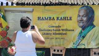 Wilhelmina Williams, the mother of ANC struggle icon and Umkhonto we Sizwe (MK) soldier Coline Williams, died on the day the ANC had celebrated its109th birthday. Picture: Armand Hough/African News Agency