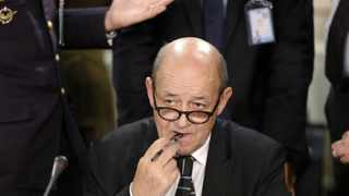 France Foreign Minister Jean-Yves Le Drian. File Image: IOL