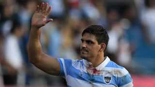 Argentina's flanker Pablo Matera said in a statement that he was 'deeply ashamed' about his offensive tweets. Picture: Charly Triballeau/AFP