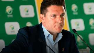 FILE - Cricket South Africa Director of cricket Graeme Smith.
