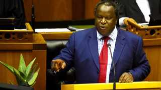 SOUTH AFRICA - Cape Town - 20 February 2019- Minister of Finance Tito Mboweni delivers the 2019 budget speech. Photograph; Phando Jikelo/African News Agency(ANA)
