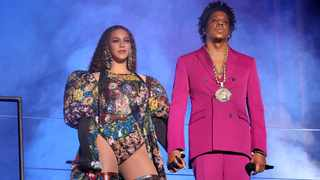 Beyonce and Jay-Z perform during the Global Citizen Festival: Mandela 100 at FNB Stadium on December 2, 2018 in Johannesburg. Picture: Raven Varona/Parkwood/PictureGroup