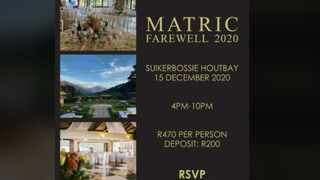 A parent who wanted to host an intimate matric dance for her daughter expressed shock after learning that the invitation had been widely circulated. Picture: Supplied