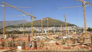 South Africa - Cape Town - 070907 - The construction site of the 2010 World Cup Stadium at Green Point. Picture: Cindy Waxa/African News Agency(ANA)