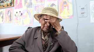 Dinah Fourie, 102, who lives at the Kensington Home for theAged in Cape Town, overcame Covid-19. Picture: Ian Landsberg/African News Agency (ANA)