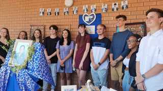 Matriculants at Maragon Mooikloof have dedicated the 100% pass rate to their principal Chris Zaayman, 56, who passed away from Covid-19 complications. Picture: Goitsemang Tlhabye
