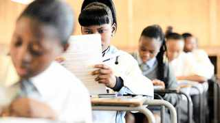 File picture of pupils writing matric exams. Chris Collingridge African News agency (ANA)