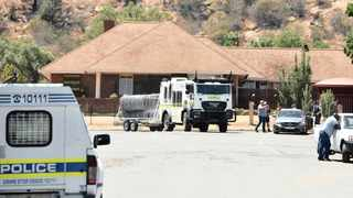 A strong police presence is expected for the court appearance today of the two suspects accused of murdering young Paul Roux farm manager Brendin Horner. Picture: Oupa Mokoena/African News Agency (ANA)