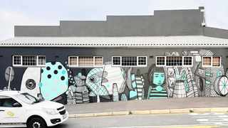 Conform and iL Caso are two of the artists whose work is on display in the Worse Than Heroin exhibition at the WorldArt Gallery, which celebrates the work of graffiti and street artists in Cape Town. Picture: Supplied.